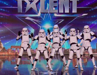 """Storm Troopers bailando el """"Single Ladies"""" de Beyoncé, la última sensación de 'Britain's Got Talent'"""