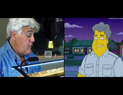 Jay Leno, nuevo famoso que participa en 'Los Simpson'