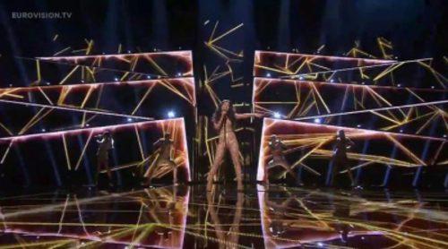 """Actuación de Azerbaiyán, Samra """"Miracle"""" en Eurovisión 2016"""