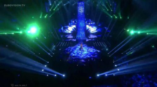 "Actuación de Malta, Ira Losco ""Walk On Water"" en Eurovisión 2016"