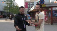 """El tour de Giuseppe di Bella por las áreas """"prohibidas"""" para las cámaras del 'Festival de Eurovisión 2016' en Estocolmo"""