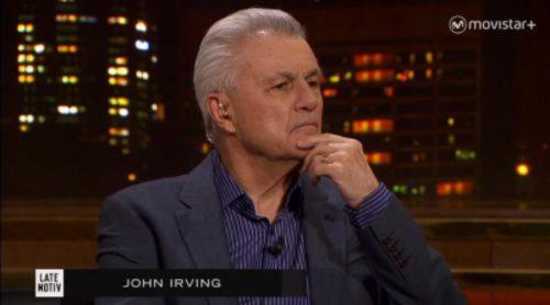 """John Irving presenta su nueva novela, """"Avenida del misterio"""", en 'Late Motiv'"""