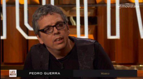 Pedro Guerra visita 'Late Motiv' con motivo del lanzamiento de sus dos nuevos discos