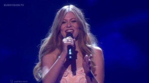 """Actuación de Austria, Zoë """"Loin d'Ici"""" en Eurovisión 2016"""