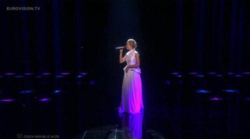 """Actuación de República Checa, Gabriela Guncikova """"I Stand"""" en Eurovisión 2016"""