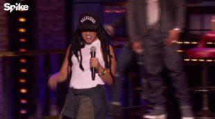 Gina Rodriguez ('Jane the Virgin') imita a Lil' Wayne en 'Lip Sync Battle'