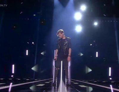 "Actuación de Letonia, Justs ""Heartbeat"" en Eurovisión 2016"