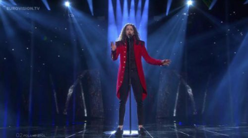 "Actuación de Polonia, Michal Szpak ""Color of Your Life"" en Eurovisión 2016"