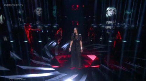 """Actuación de Serbia, Sanja Vucic ZAA """"Goodbye (Shelter)"""" en Eurovisión 2016"""