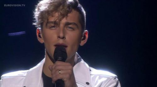 "Actuación de Lituania, Donny Montell ""I've Been Waiting For This Night"" en Eurovisión 2016"
