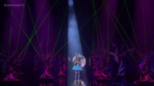 """Actuación de Alemania, Jamie-Lee """"Ghost"""" en Eurovisión 2016"""