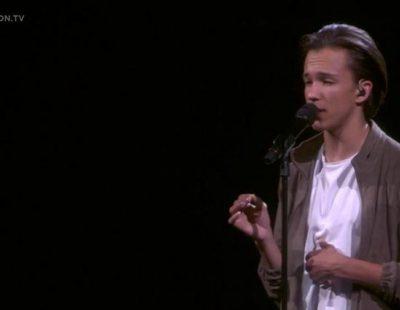 """Actuación de Suecia, Frans """"If I were Sorry"""" en Eurovisión 2016"""