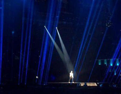 """Donny (Lituania) canta """"I've Been Waiting for This Night"""" en el Dress Rehearsal de Eurovisión 2016"""