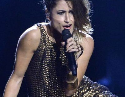 "Barei canta ""Say Yay!"" en el Dress Rehearsal de la final de Eurovisión 2016"