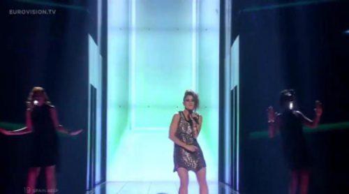"Actuación de Barei ""Say Yay!"" en la final de Eurovisión 2016"