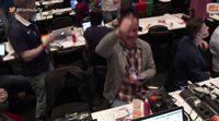 """La impresionante reacción de la sala de prensa al """"Say Yay"""" de Barei en la final de Eurovisión"""
