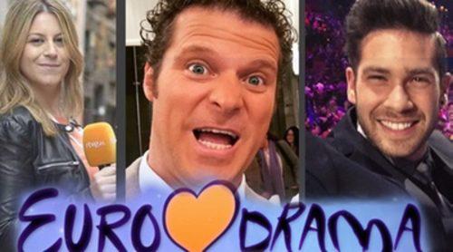 Eurodramas de Eurovisión 2016: el previo a dar los votos de Jota Abril, la expulsión del corista israelí y el robo de bandera