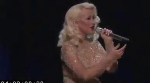 La impresionante actuación de Christina Aguilera y Whitney Houston, censurada en 'The Voice'
