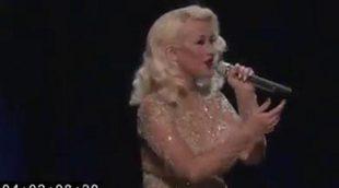 La impresionante actuación de Christina Aguilera y Whitney Houston, censurada en 'The Voice'