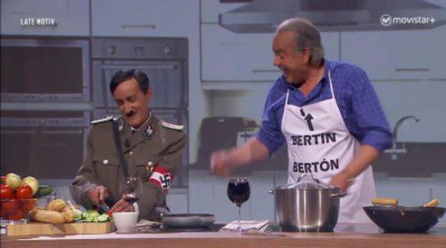'Late motiv' cumplió el sueño de Bertín Osborne: así fue su entrevista a Hitler