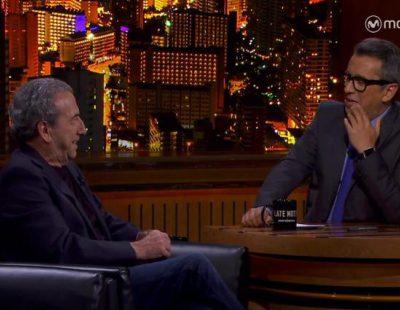 """Jose Luis Perales pide """"calma"""" al mundo en su entrevista con Buenafuente en 'Late motiv'"""