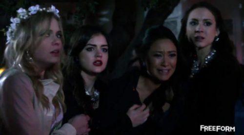 Mucho drama en el primer avance de la séptima temporada de 'Pretty Little Liars'