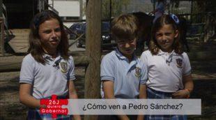 ¿Qué opinan los niños de Pedro Sánchez? Avance de '26J. Quiero gobernar'