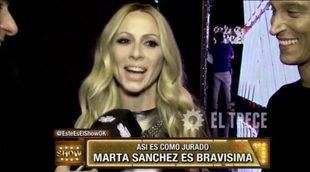 La equivocada imagen que tienen en Argentina de Marta Sánchez como jurado