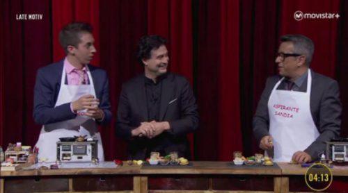 Buenafuente y Broncano se enfrentaron en 'MiniChef', con Pepe Rodríguez como jurado