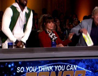 La pequeña Tahani Anderson vomita encima de Paula Abdul tras pasar el casting de 'So You Think You Can Dance'