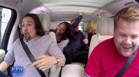 Carpool Karaoke con James Corden: Lin-Manuel Miranda, Audra McDonald, Jane Krakowski y Jesse Tyler Ferguson