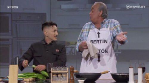 Tras entrevistar a Hitler, Bertín Orborne hace lo propio con Kim Jong-Un en su parodia en 'Late motiv'