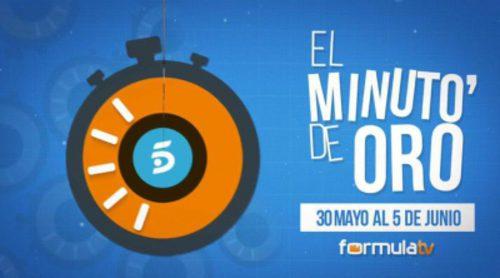 """Telecinco se llevó cinco de los siete """"Minutos de Oro"""" de la semana pasada. ¿Cuáles?"""