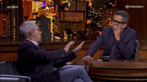 Dardos y bromas entre Sardá y Buenafuente en su reencuentro en 'Late Motiv'