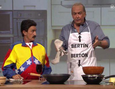 Tras Hitler y Kim Jong-Un, Bertín entrevista a Maduro en 'Late motiv'