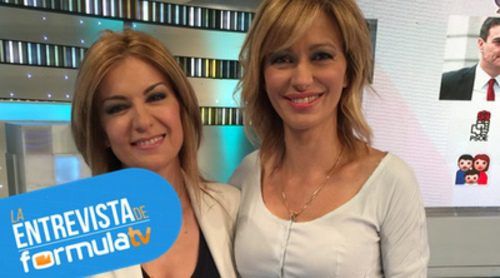Primer encuentro entre Susanna Griso y Sandra Golpe en 'Espejo público': consejos, anécdotas y su opinión política