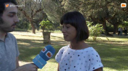 Andrea del Río ('Mar de plástico') explica el cambio que sufrirá su personaje en la segunda temporada
