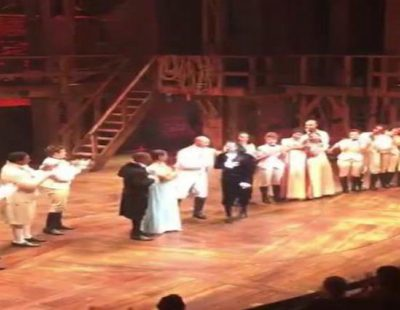 """Lin-Manuel Miranda se despide del musical """"Hamilton"""" a ritmo de 'El ala oeste'"""