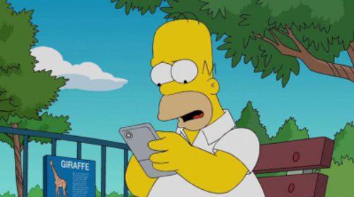 Homer Simpson se une a la fiebre de Pokémon Go en 'Los Simpson'