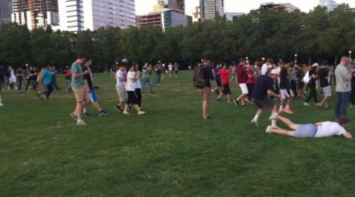 Pokémon Go: Locura general en un parque de Estados Unidos tras la aparición de Squirtle