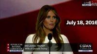 Melania Trump copia el discurso de Michelle Obama durante la Convención Republicana