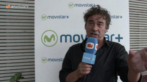 """Eduard Fernández ('La zona'): """"Habrá que acostumbrarse a pagar por ver series buenas de televisión. Es algo que ha cambiado"""""""