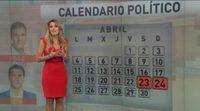 Angie Rigueiro explica el calendario político en Antena 3 noticias
