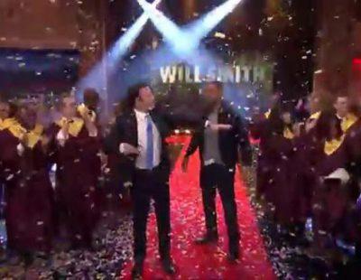 La épica entrada de Will Smith en el Show de Jimmy Fallon