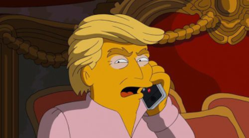 Homer Simpson votará a Donald Trump... o no