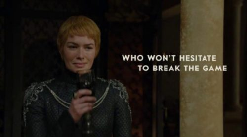 Nueva campaña para los Emmy de 'Juego de Tronos' con tono político