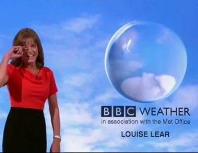 Ataque de risa incontenible de la mujer del tiempo en las noticas de la BBC