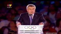 """La traducción """"libre"""" realizada por una televisión venezolana en la inauguración de los Juegos Olímpicos"""