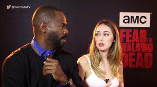 """Colman y Alycia Debnam-Carey: """"Al final de la T2 de 'Fear TWD' los personajes irán a sitios que nunca hubiesen imaginado"""""""
