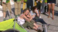 Una cámara se descuelga e impacta en dos mujeres en los 'Juegos Olímpicos de Río de Janeiro 2016''